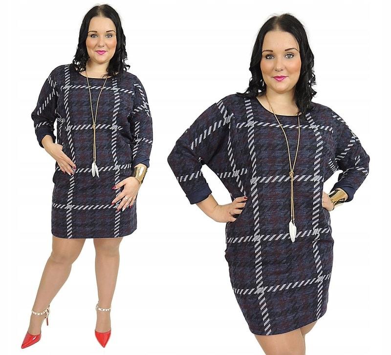 Dámské stylové šaty - 4XL/5XL