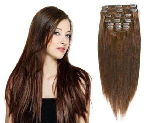 CLIP-IN- 100% Lidské vlasy k prodloužení REMY af796627bdb