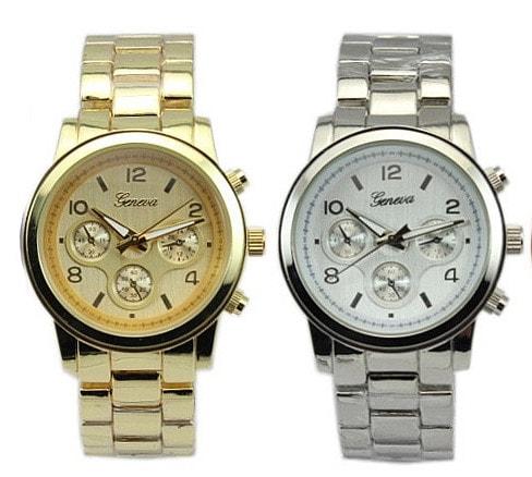Studiomody.cz - Luxusní dámské hodinky Geneva- gold c9328376d2