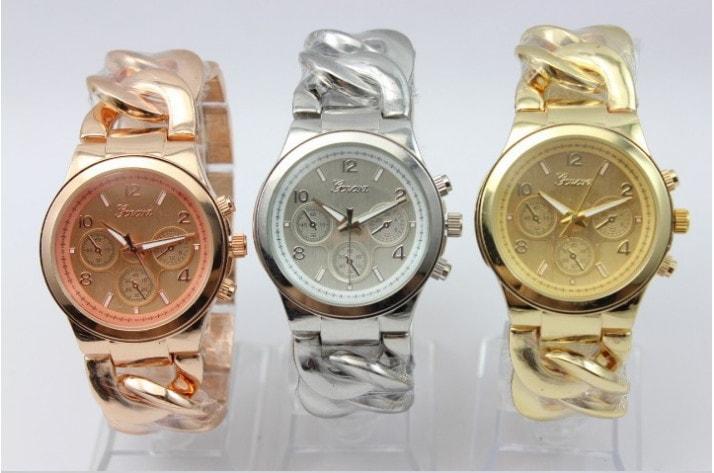 Studiomody.cz - Luxusní dámské hodinky Geneva- výběr 4 barev ... 1ac01e4bce1