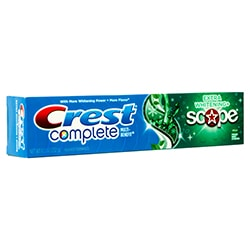 Bělící zubní pasta Crest EXTRA Whitening SCOPE - 2. jakost