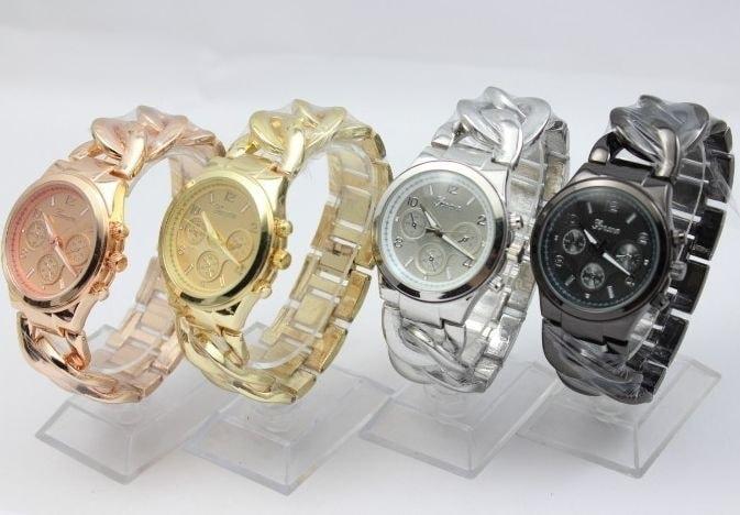 Studiomody.cz - Luxusní dámské hodinky Geneva- výběr 4 barev ... fb9b4c2543
